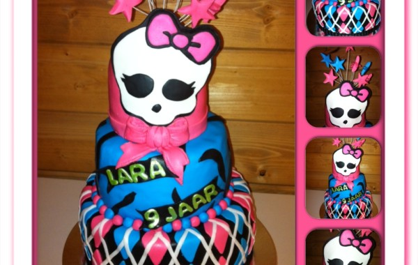 monster high taart